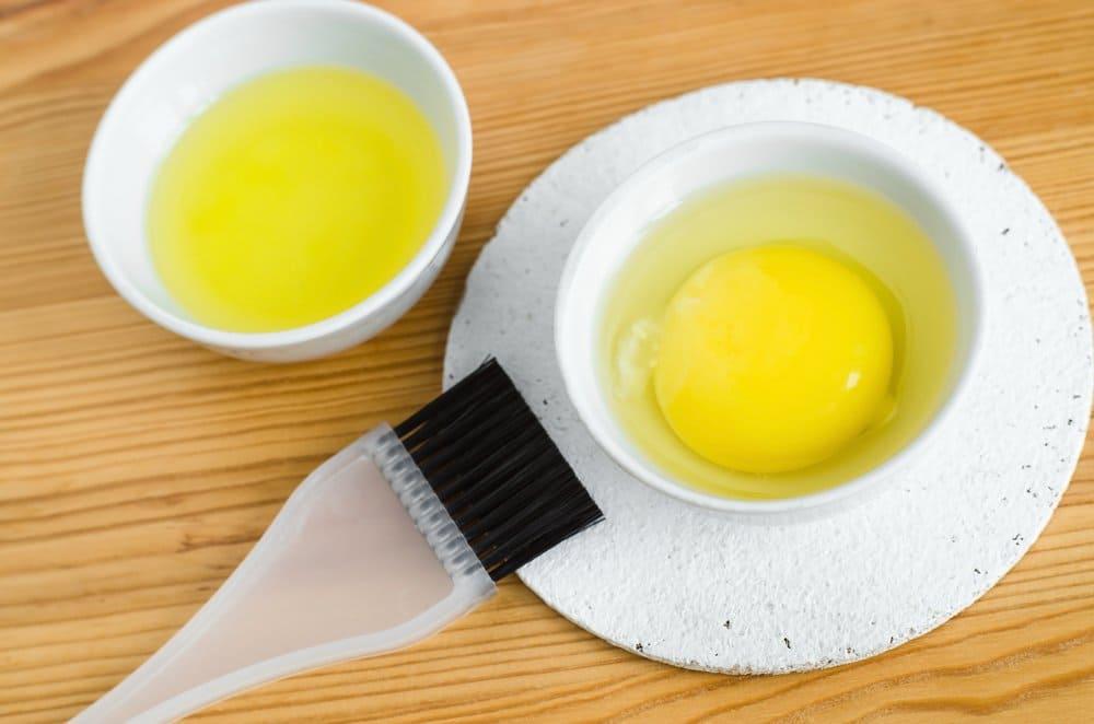 Яично-йогуртная маска с касторкой