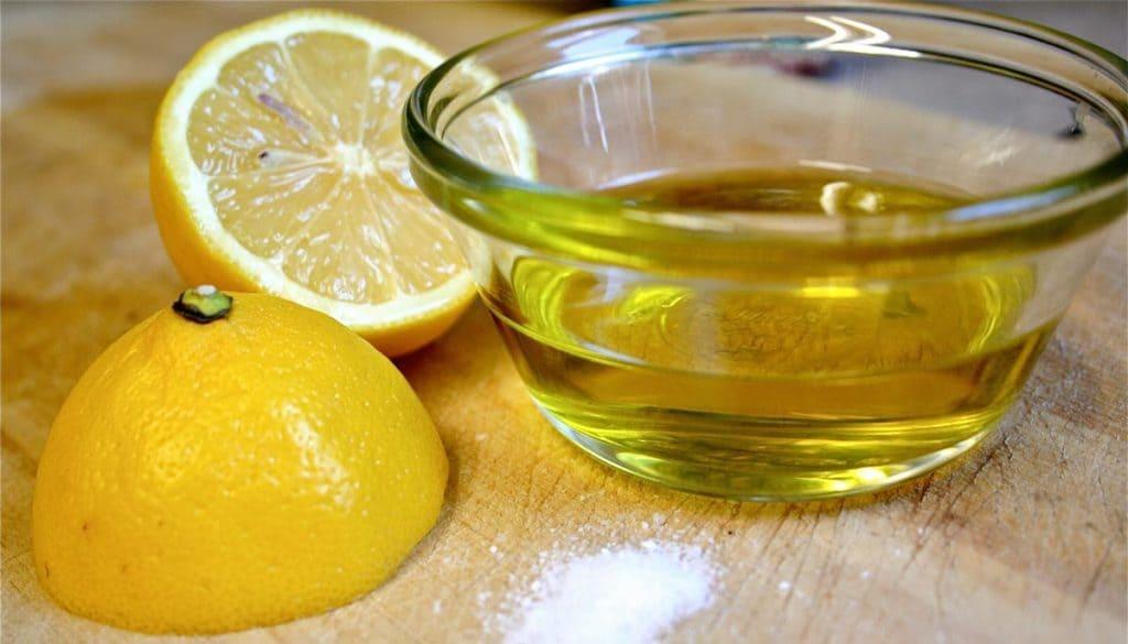 Маска для волос из лимона с оливковым маслом