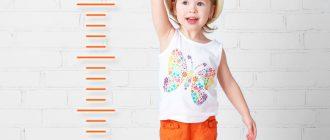 быстрый рост ребенка